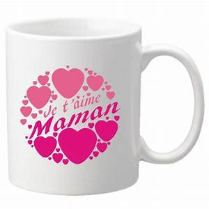 Mug Fete Des Meres : mug je t 39 aime maman cadeau pour la f te des m res no l anniversaire p ques bapt me ~ Teatrodelosmanantiales.com Idées de Décoration