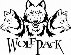 Wolf Pack Cartoon Drawing