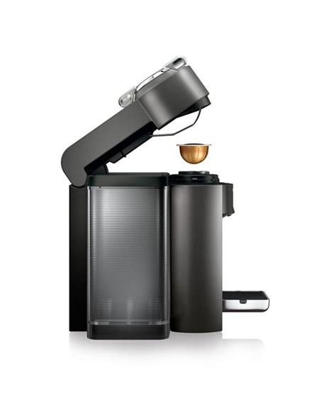 It comes with an adjustable tray so that coffee doesn't splash everywhere when using a short heighted mug and at the. Nespresso Vertuo Coffee and Espresso Machine by De'Longhi & Reviews - Coffee Makers - Kitchen ...