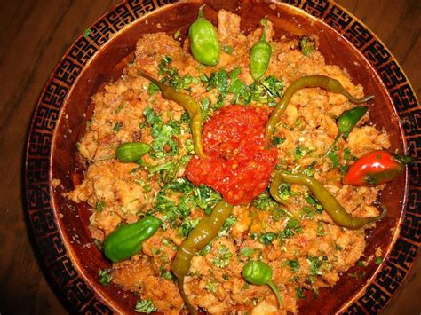 traditional cuisine of a biskra c boumehress ou slatet el mehrass algerian cuisine food