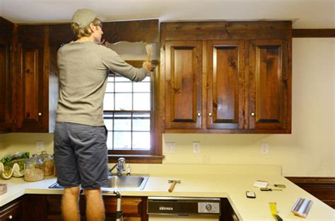Removing Some Kitchen Cabinets & Rehanging One  Young