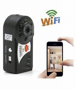 Ibs Q7 Mini P2p Wifi Ip Camera Hd Dv Hidden Spy Night Vision 1 Base 1 Manual Camcorder Video
