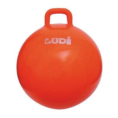 si鑒e sauteur ballon sauteur 55 cm orange ludi magasin de jouets pour enfants