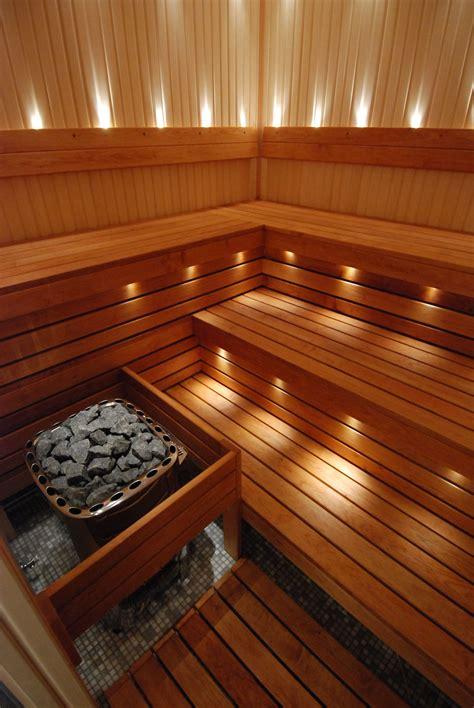 sauna room steam saunas spa lighting portable diy basement homemade outdoor lights indoor bath finnish plans own designs vapor pretty
