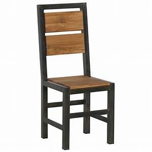 Chaise Style Industriel : chaise style industriel scott casita ~ Teatrodelosmanantiales.com Idées de Décoration