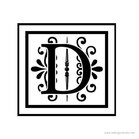 letter c monogram template decorative letters alphabet gallery free printable