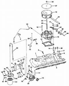 omc stern drive intake manifold parts for 1988 74 l With diagram of 1988 e200cxccr evinrude intake manifold diagram and parts