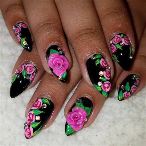 awesome  nail art designs ideas  eps vector word