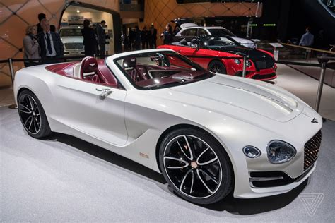 Bentley Car : Bentley Challenges Tesla's Idea Of Electric Luxury With A