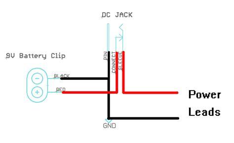 power jack pinouts arduino