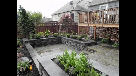 Small Space Backyard Ideas by Landscaping Ideas For A Small Space