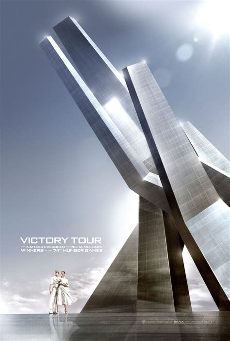 the hunger games catching fire victory tour posters