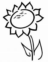 Sunflower Coloring Pages Preschoolers Sunflowers Preschool Line Simple Sheets Spring Clipart Easy Printable Rocks Template Cliparts Clip Library Books sketch template