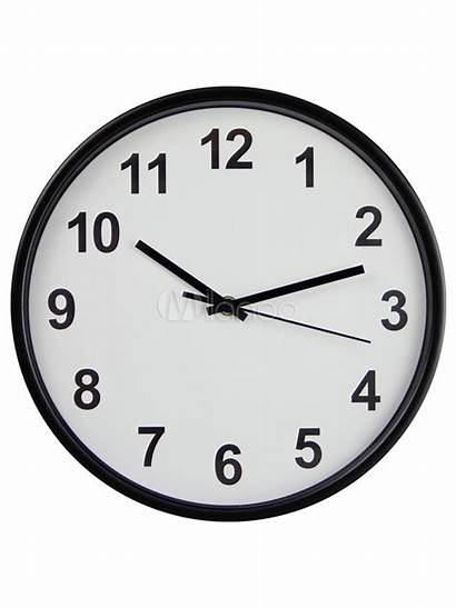 Clock Clip Wall Analog Clipart Cliparts Round