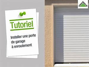 Porte De Garage A Enroulement : bien choisir sa porte de garage leroy merlin ~ Dailycaller-alerts.com Idées de Décoration