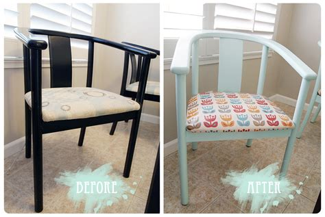 Kitchen Chair Makeover  Froo & Boo