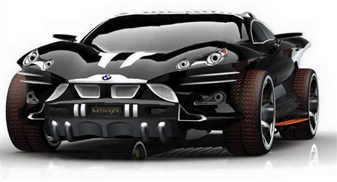 New Bmw X9 Concept Car, Futuristic Car Design By Khalfi
