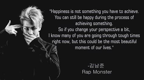 thoughts  bts rap monster page
