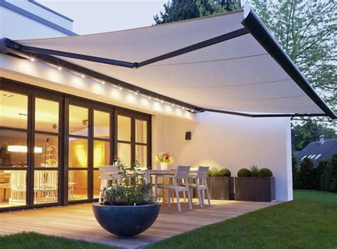 Automatic Awnings For House Design Archilivingcom