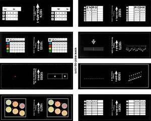Optical Eye Test Chart Titmus Vision Screener Professional Slides