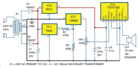 Audio Amplifier Using Tda Full Project With
