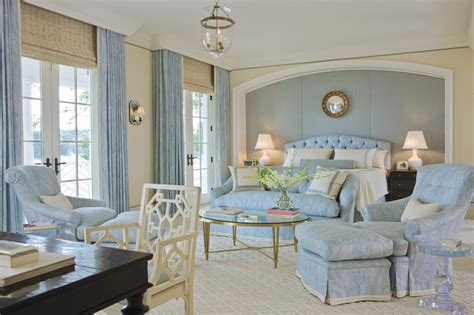 Classic Light Blue Bedroom Design  Interiors By Color