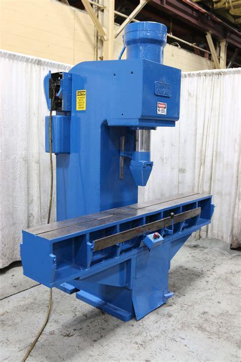 ton hannifin  frame hydraulic straightening press