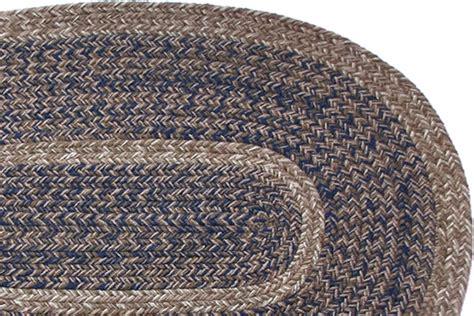stroud braided rugs 1777 charles blend navy braided rug
