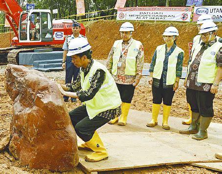 Ground Breaking Megaproyek Jalur Kereta Cepat Jakarta