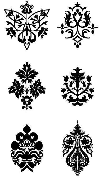 henna schablonen possible henna patterns hena schablonen geometrie und malen