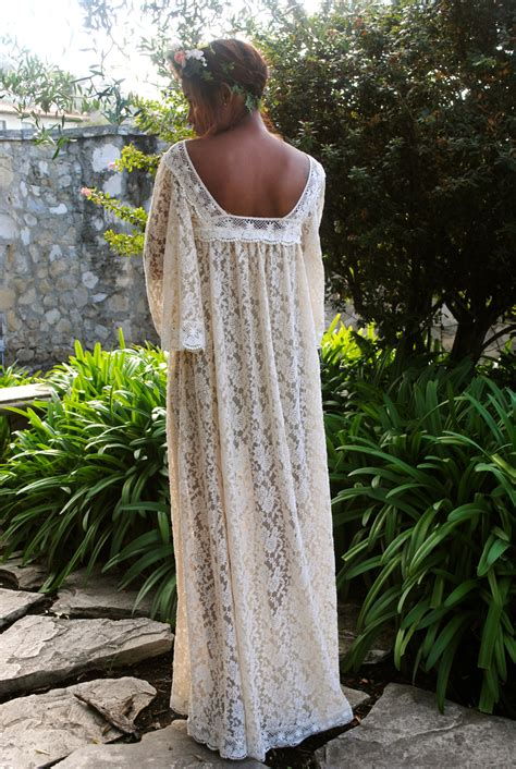 annabel lace caftan dress dreamers  lovers