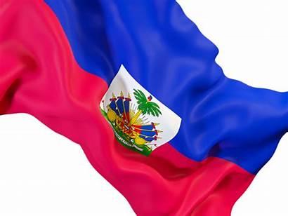 Haiti Flag Waving Closeup Commercial Non