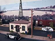 HO Scale Radio Tower