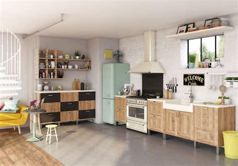cuisine de 5m2 une cuisine ouverte dlimite grce au sol with cuisine 5m2