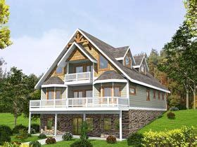 Traditional Style House Plan 85252 with 3 Bed 4 Bath 2