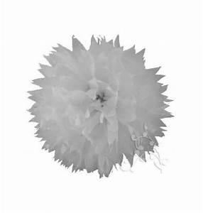 Papier De Soie Blanc : pompon papier de soie fleur 38 cm blanc 1001 d co table ~ Farleysfitness.com Idées de Décoration