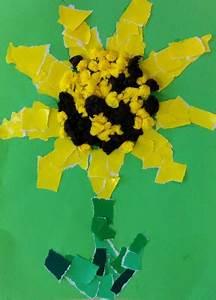 Bastelideen Sommer Kindergarten : sonnenblumen basteln kinderspiele ~ Frokenaadalensverden.com Haus und Dekorationen