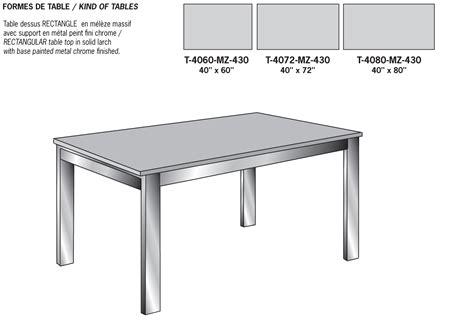 Table Dessin