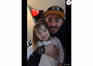 Femme Karim Benzema : karim benzema un tendre papou pour l 39 anniversaire de sa fille m lia purepeople ~ Medecine-chirurgie-esthetiques.com Avis de Voitures