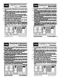 Toro Installation Instructions Control Sprinkler