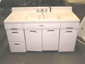 Retro Metal Kitchen Cabinets by Sold Antique Kitchen Sinks