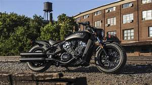 American Motorcycles Indian Scout Bobber 2018, HD 4K Wallpaper