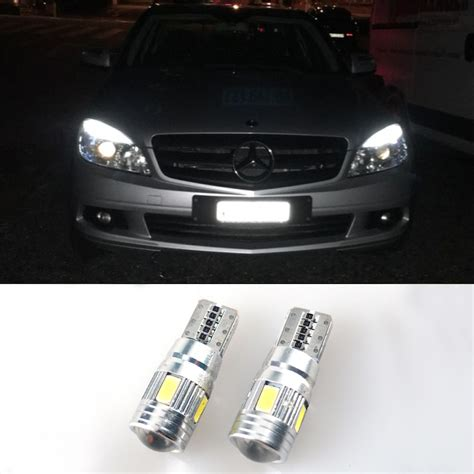 2x t10 w5w led error free clearance light parking bulb for