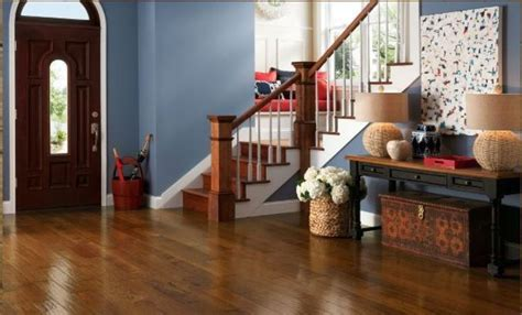 Hickory   Autumn Blaze 5 in. Engineered Hardwood Wide