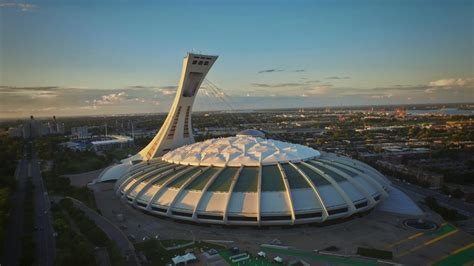 Olympic Stadium Montreal | Dronestagram