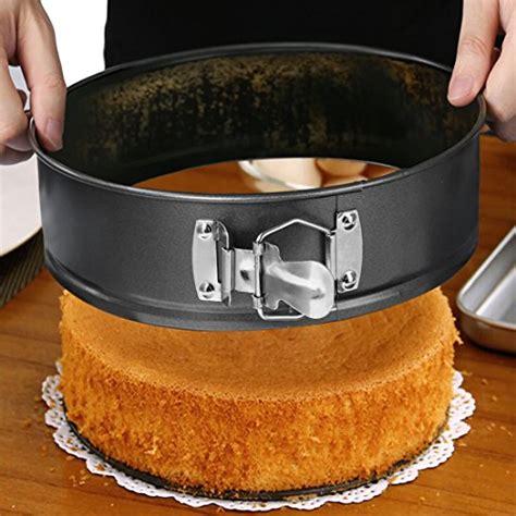pan springform cake spring stick cheesecake non bottom round baking form pans pot removable instant tinplate detachable inch tin bakeware