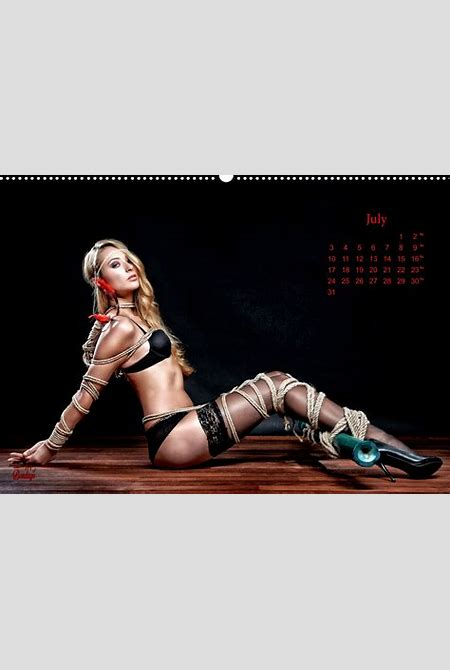 Fine Art of Bondage - Beauty of Rope I - Calendar 2017