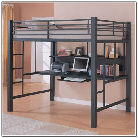 ikea loft bed with desk full size loft bed with desk ikea beds home design