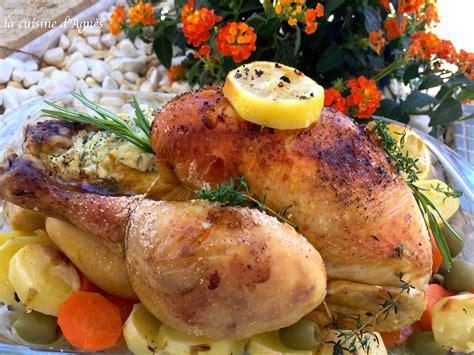 cuisine au poulet rôti au citron la cuisine d 39 agnèsla cuisine d 39 agnès