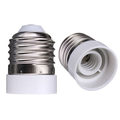 e26 to e12 base led light l bulb adapter